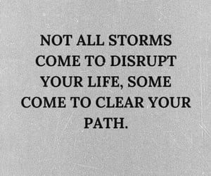 path, storm, and life image