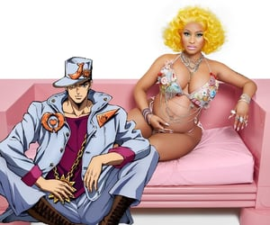 anime, jojo, and barbz image