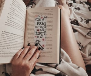 bibliophile, reading, and book lover image