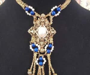 hollywood regency, couture fashion, and tassel necklace image