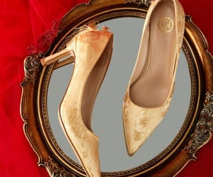 embroidered, fashion, and pointed toe image