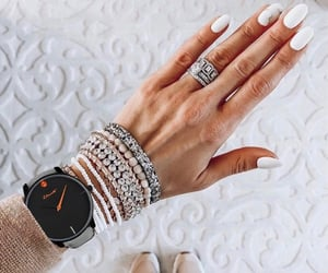 minimalist, nails, and weheartit image