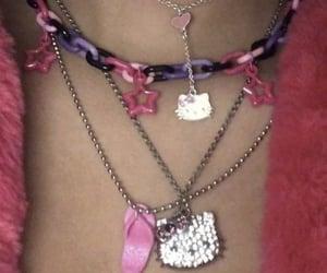 collar, pink, and joyas image
