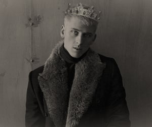 black and white, manip, and prince image