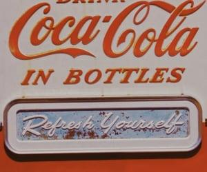 retro, vintage, and coca cola image