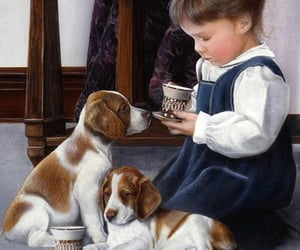 babies, kids, and puppies image