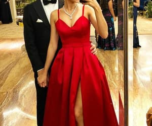 prom dress, long prom dress, and cheap prom dress image