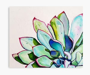 succulents, art, and cactus image