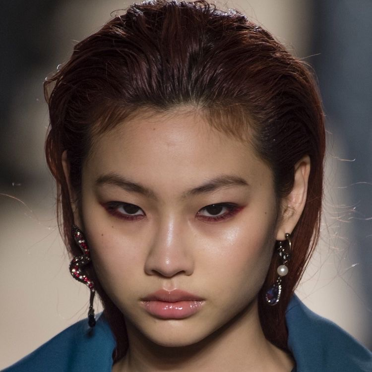 model, makeup, and asian image