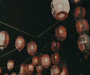 asian, dark, and decoration image