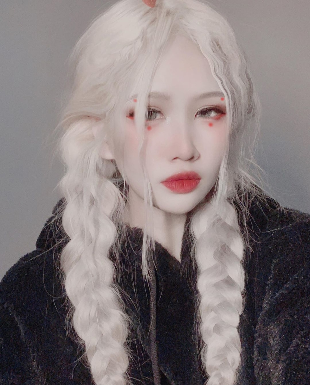 braided hair, doll, and instagram image