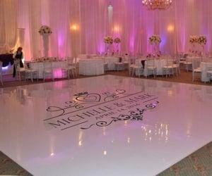 elegant, rich, and wedding reception image