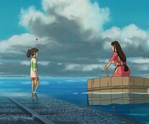 animation, chihiro, and anime image