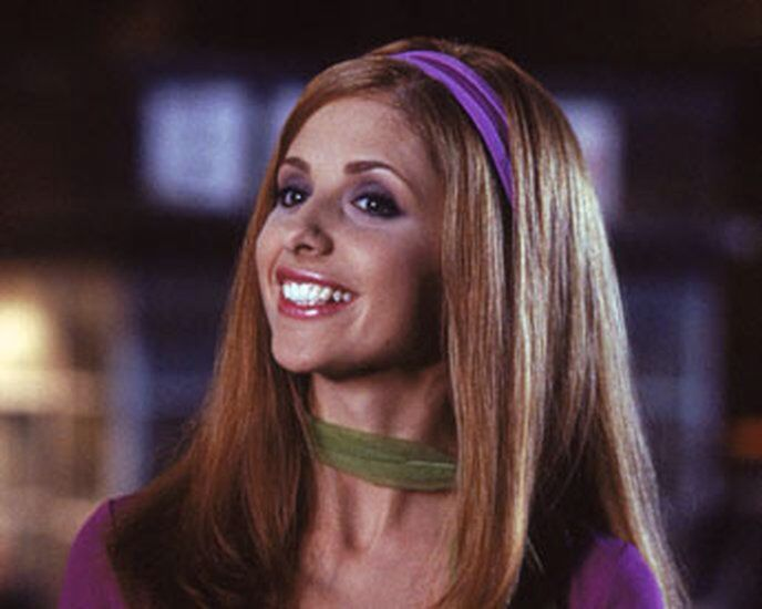aesthetic, sarah michelle gellar, and scooby doo image