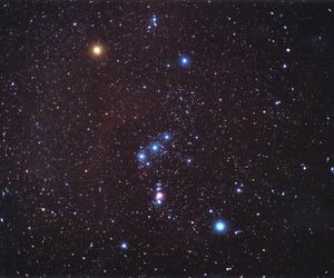stars, orion, and space image