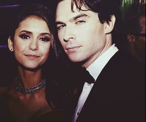 couple, ian somerhalder, and Nina Dobrev image