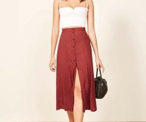 closet, fashion, and maxi skirt image