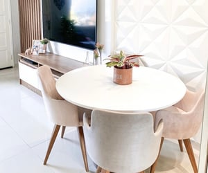 dining room, home design, and home inspiration image