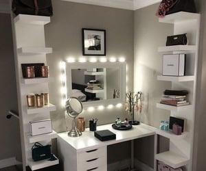 home design, home inspiration, and make up room image