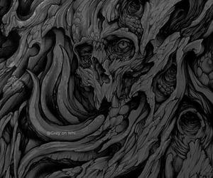 dark, theme, and art dark image