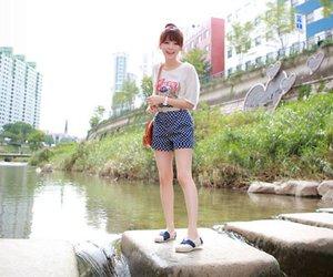 asian fashion, korean, and kim shin yeong image