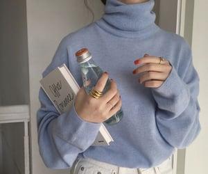 blue, aesthetic, and fashion image