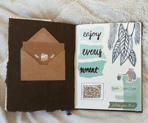 art journal, journal, and journaling image