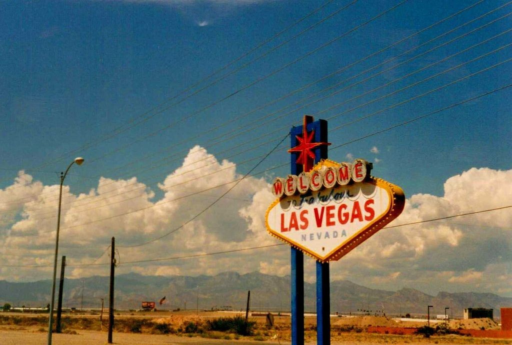 Las Vegas, retro, and vintage image
