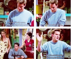 chandler bing, friends quotes, and chandler bing quotes image