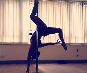 girl, dance, and pole dance image