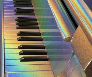 aesthetic, beautiful, and piano image