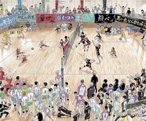 archive, colored manga, and shiratorizawa image