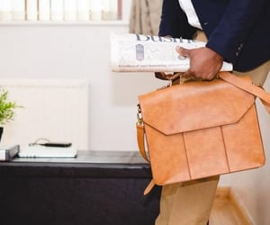 leatherclue and office leather bags image