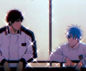 anime, Basketball, and friend image
