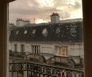 rain, paris, and aesthetic image