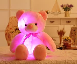 gifts, teddybear, and kids image