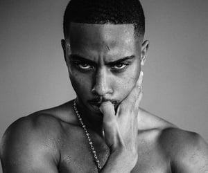 fine, monochrome, and keith powers image