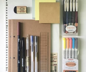 collection, pencil, and washi tapes image