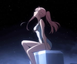 gif, anime, and darling in the franxx image