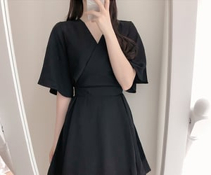 asian fashion, dress, and jumpsuit image