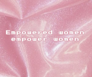 feminism, girl power, and pink image
