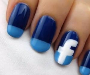 facebook and nails image