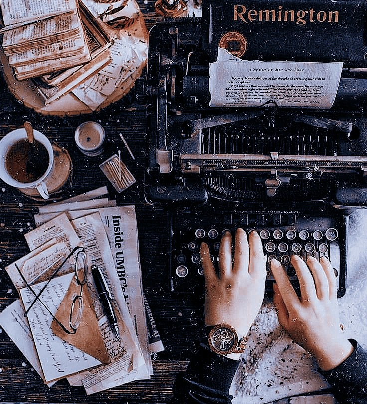 aesthetic, dark academia, and autumn image