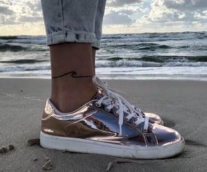 beach, minimalist, and sand image