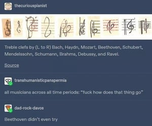 bach, Beethoven, and funny image