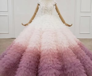 prom dress, wedding dress, and quinceanera dress image