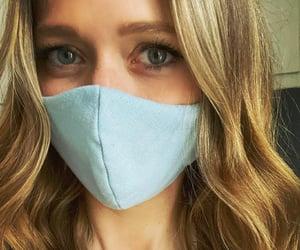 johanna braddy and wear a mask image