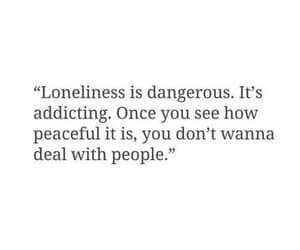 quotes, loneliness, and lonely image