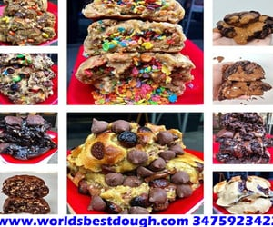 buy cookie dough online and stuffed cookies delivery image