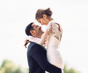 couple, kenza, and wedding image
